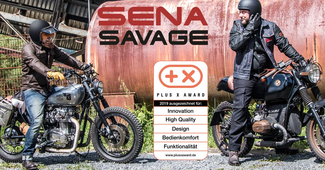 Savage Motorcycle Bluetooth Helmet Plus X Award 2019