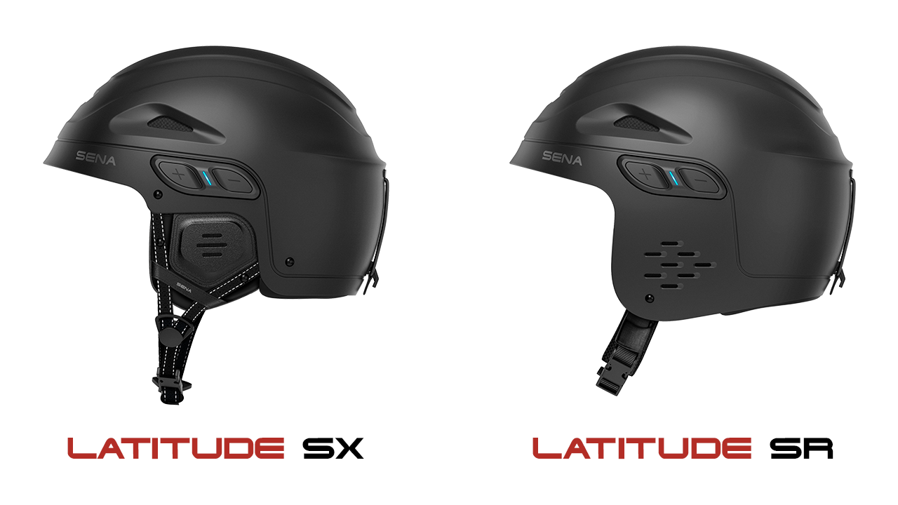 Latitude SX and SR side-by-side