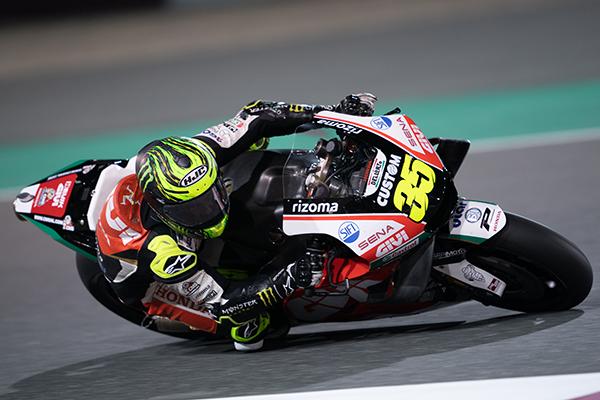 MotoGP LCR Honda Sena Sponsorship Cal Crutchlow