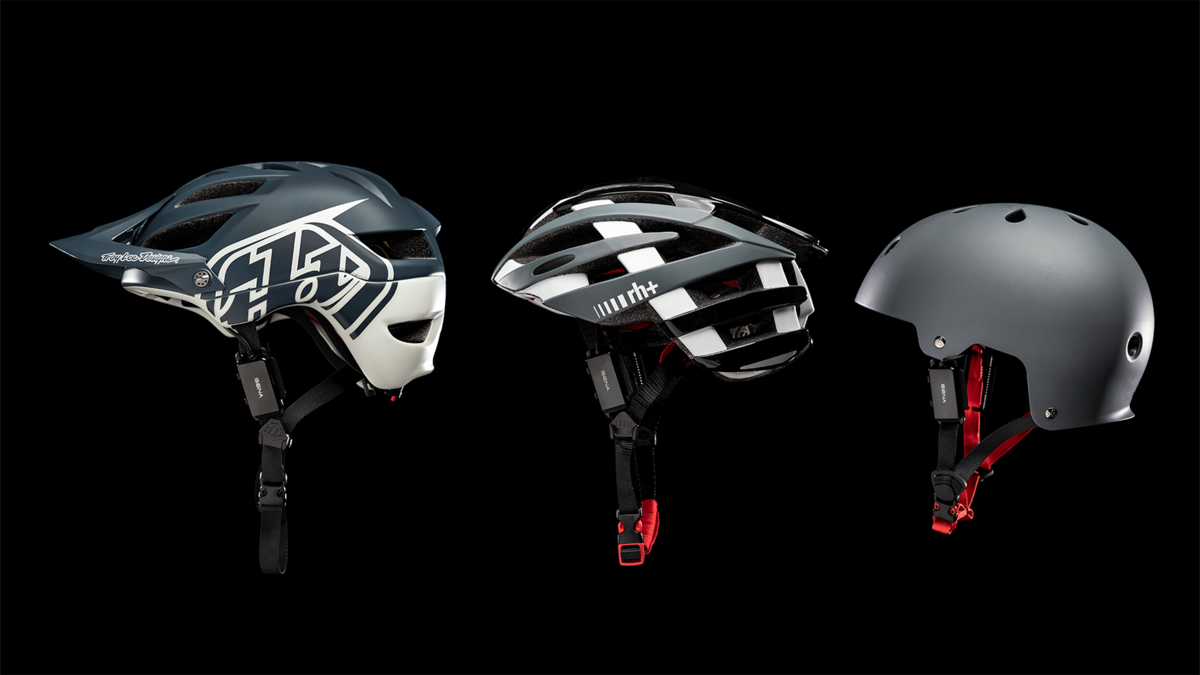 Attach pi to your favorite helmet