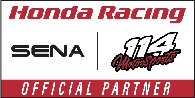 Sena x 114 Motorsports Collaboration