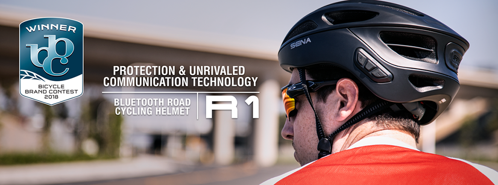 Sena R1 Bicycle Helmet Award Winner