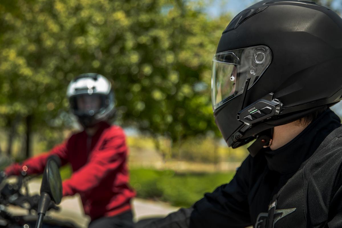 Spider RT1 on a helmet