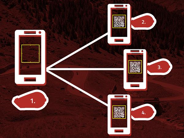 Smart Pairing QR Code Phone Pairing