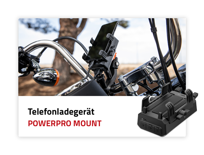 Telefonladegerät: PowerPro Mount