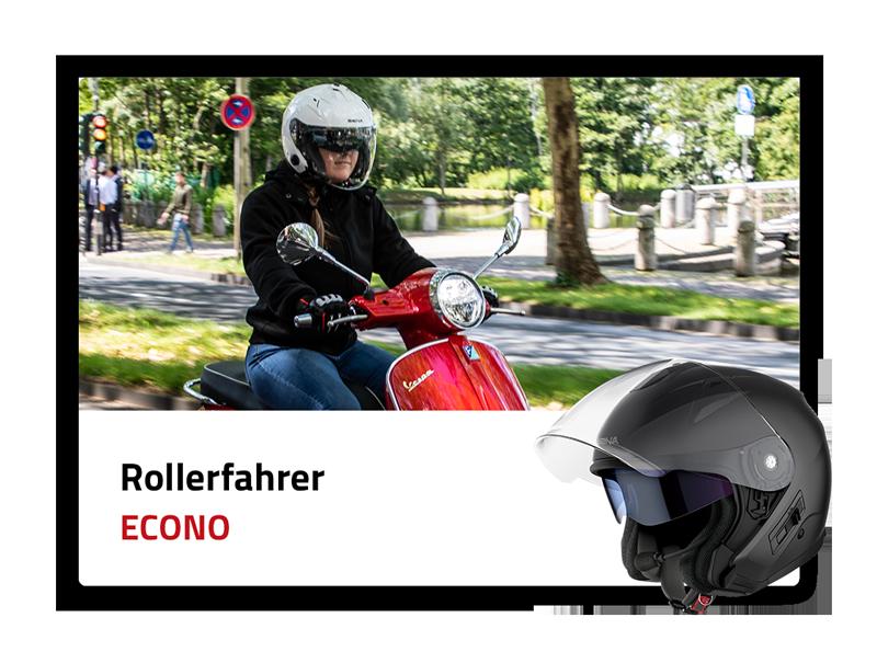 Rollerfahrer: Econo