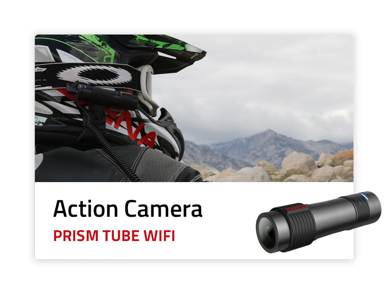 Action Camera - Prism Tube WiFi