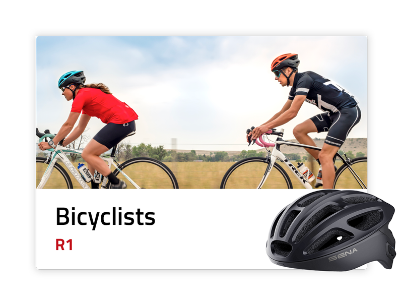 Bicyclists: R1