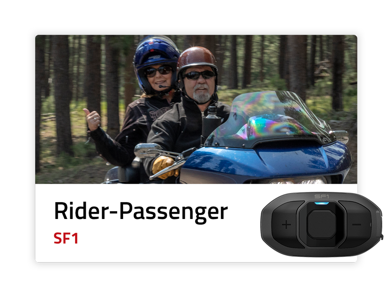 Rider to Passenger: SF1