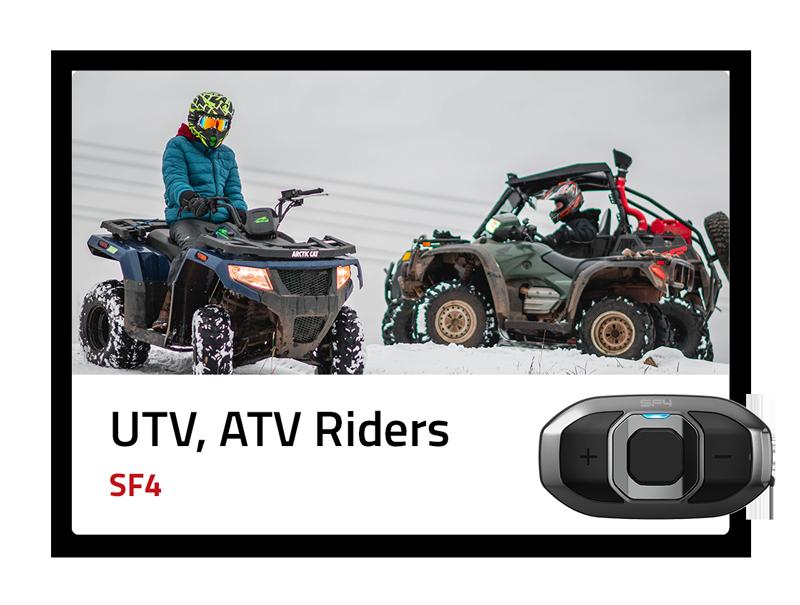 UTV/ATV Riders: SF4