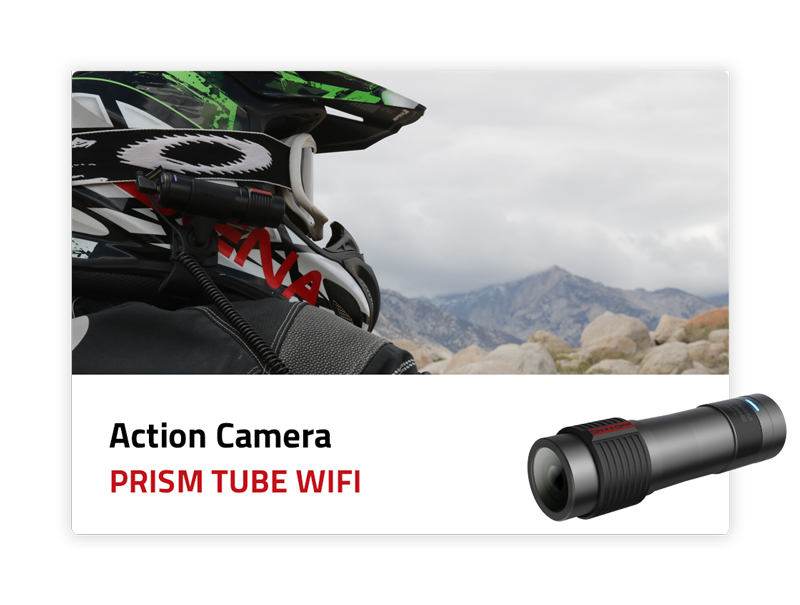 Action Camera: Prism Tube WiFi