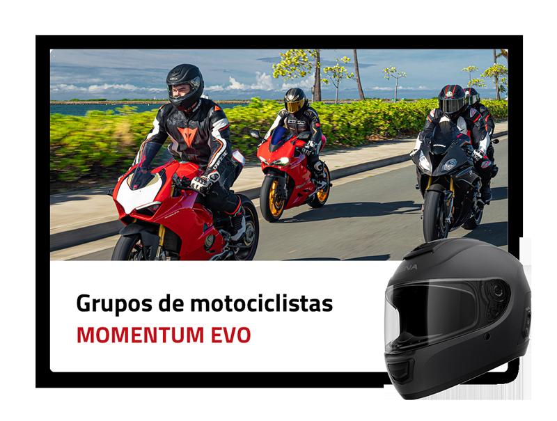Grupos de motociclistas: Momentum EVO