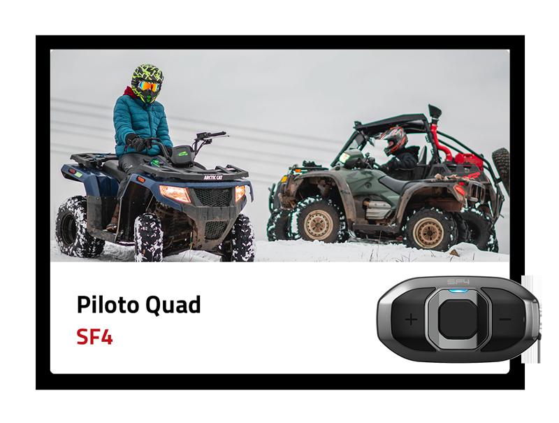 Piloto Quad: SF4