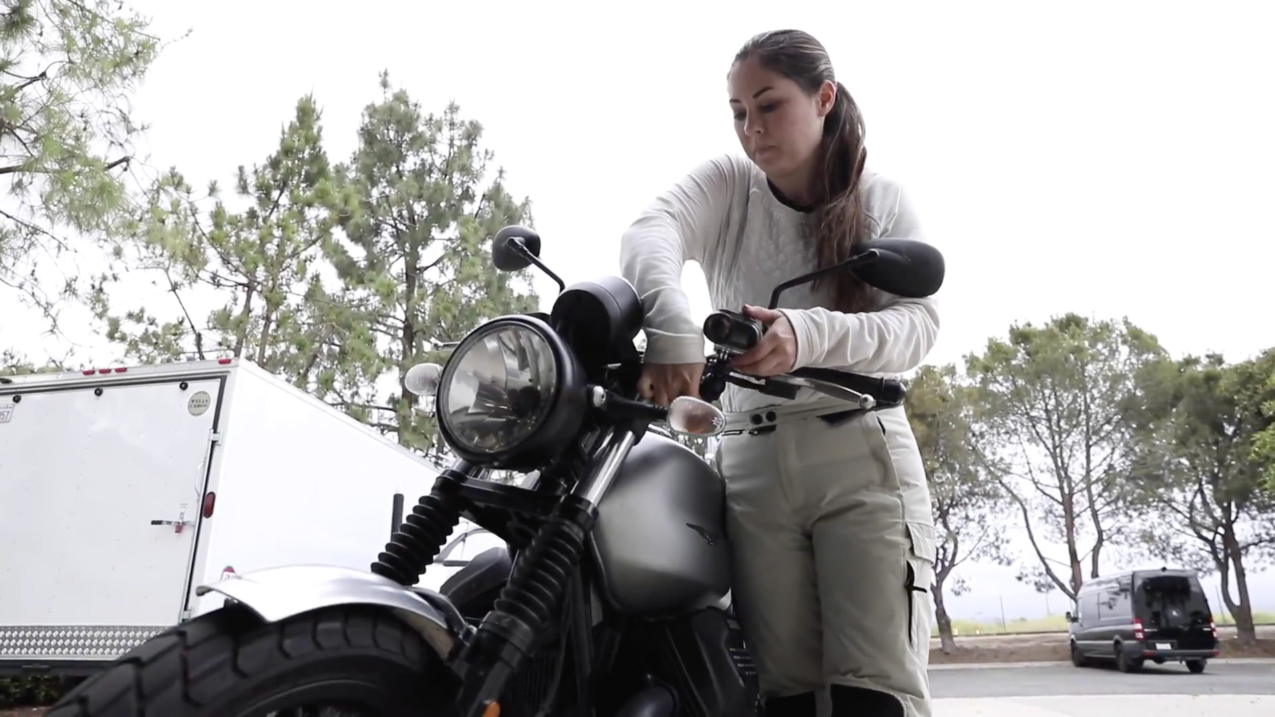 Cait, Motorcyclists and Founder of California Moto Market
