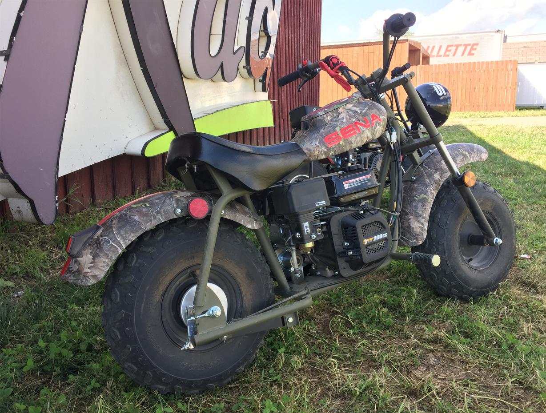 Sena-branded Motorcycle