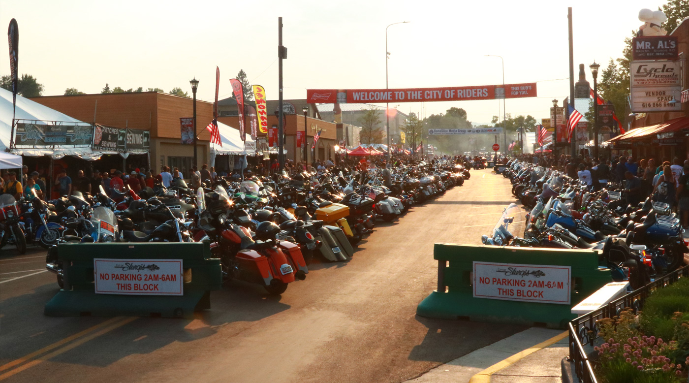 Sturgis Motorcycle Rally Entrance