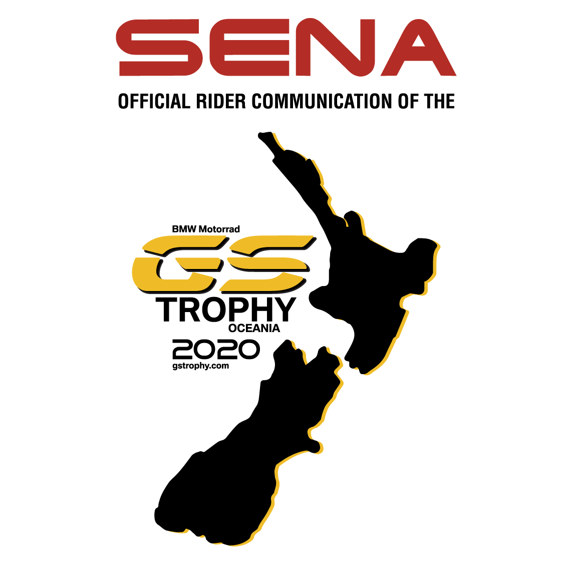 Sena X BMW GS Trophy Logos