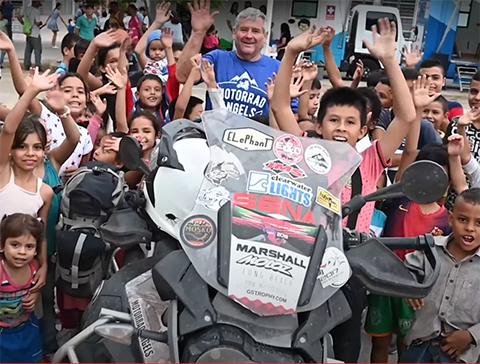 Motorrad Angels in Venezuela Sena