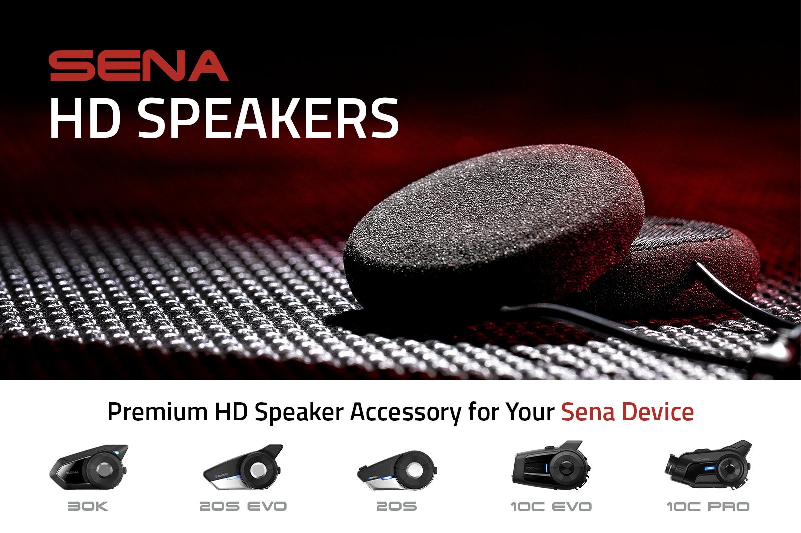 Sena HD Speakers