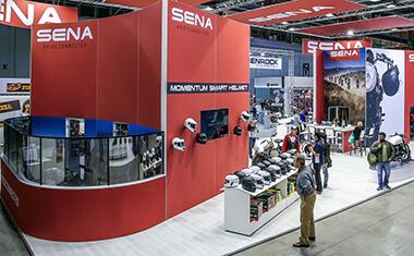 Sena In-Person Consumer Events and Trade Shows