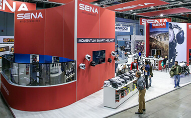 Sena In-Person Consumer Events and Trade Shows