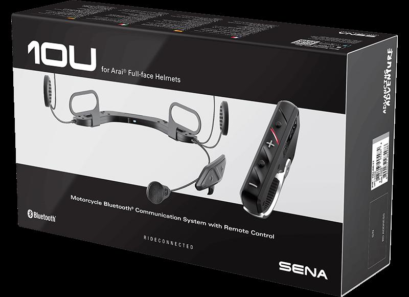 10U Bluetooth Communication System, Arai Full-Face Helmets