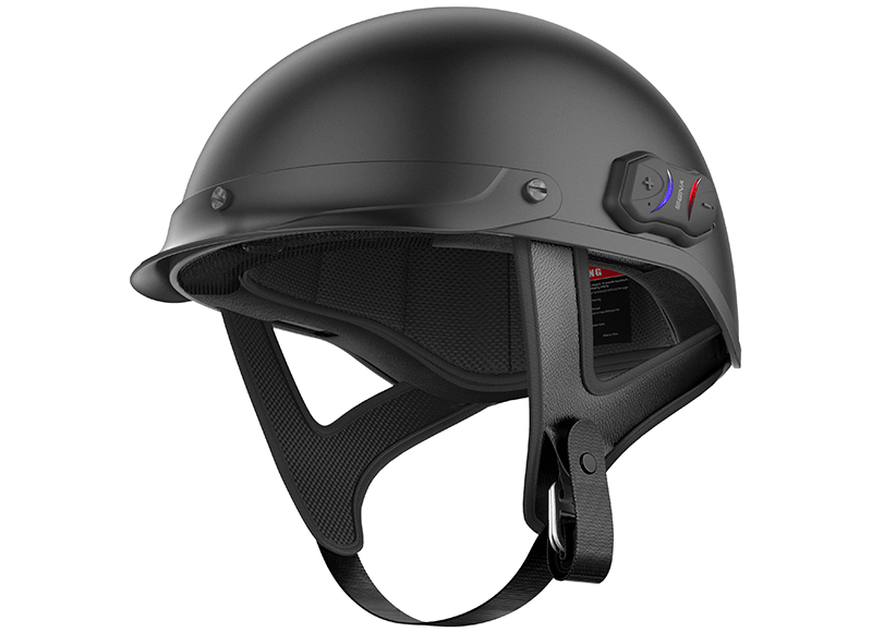 Bluetooth-Integrated Motorcycle Half-Helmet