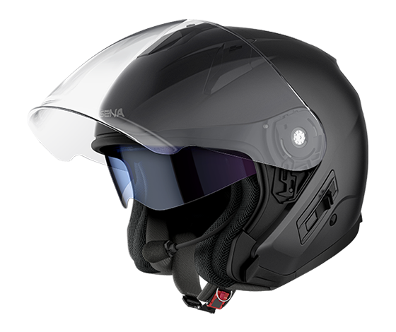 Econo Smart Helmet Left Side - Black