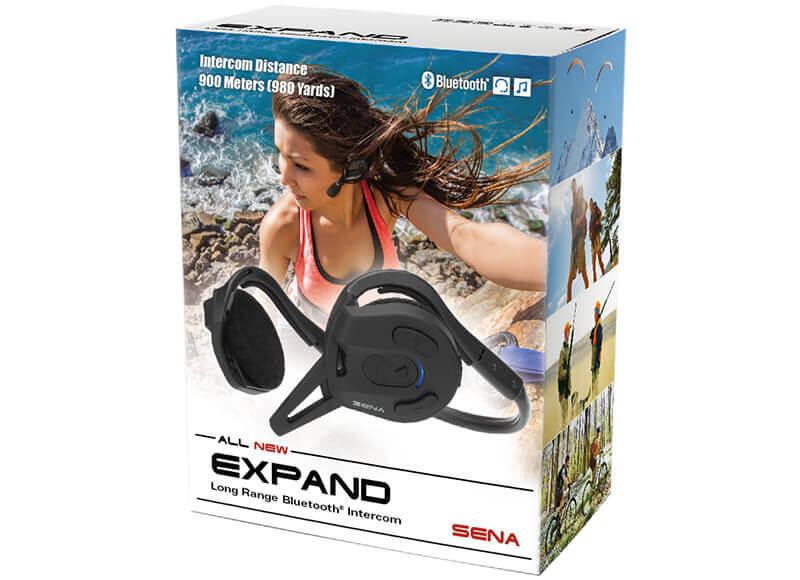 Expand Long-Range Waterproof Bluetooth Headset