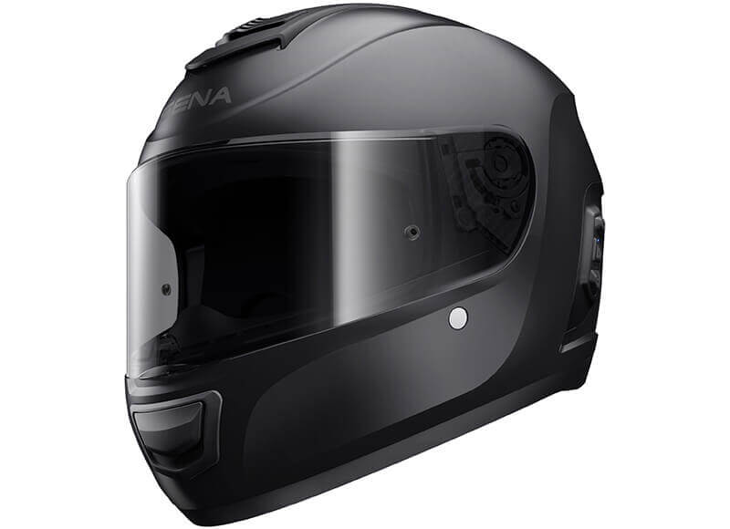 Momentum Bluetooth Full Face Helmet Black