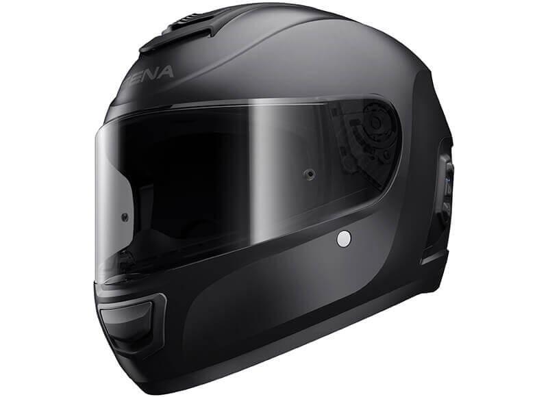 Momentum Bluetooth Full Face Helmet Black