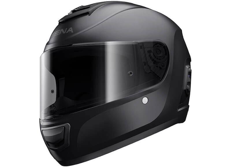 Momentum Lite Full-Face Bluetooth Smart Helmet Black