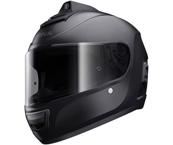 Momentum Pro Black Helmet Bluetooth Communication with Camera