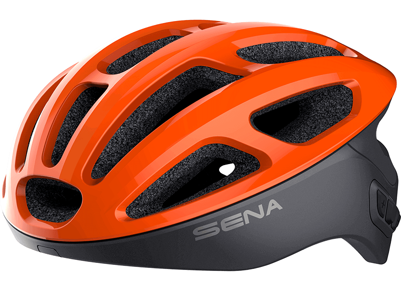 Sena R1 Smart Cycling Helmet Orange