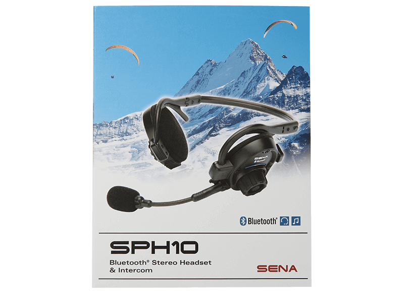 SPH10, Bluetooth Stereo Headset & Intercom
