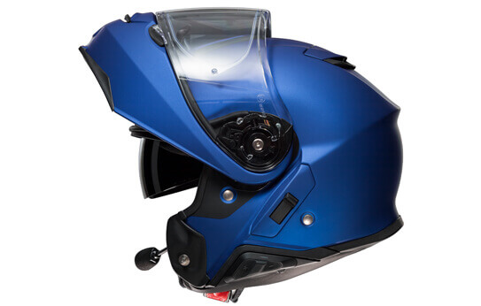SRL in Motorcycle Helmet