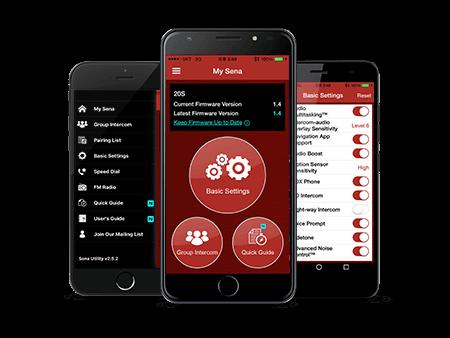 Sena Smartphone App