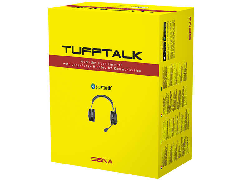 Tufftalk Industrial Earmuff Long-Range Communication